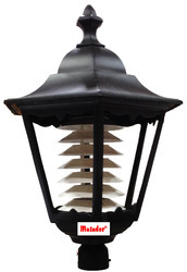 cast aluminium post top lantern ceaser