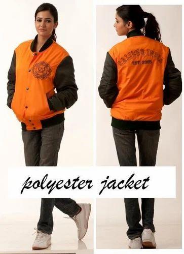 Polyester Varsity Jacket