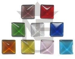 Square Glass Marbles