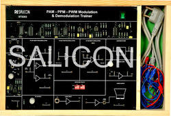 PAM-PPM-PWM Modulation & Demodulation Trainer - ST8302