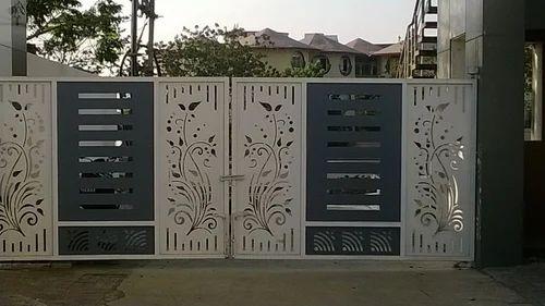 Lasercut Designer Gate Designer Main Gate Manufacturer