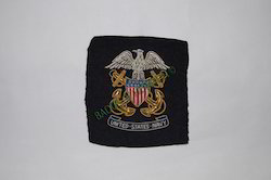 United State Navy Crest Embroidered Badge