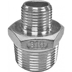 Stainless Steel Hex Nipple 316