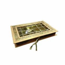 Metallic Chocolate Box