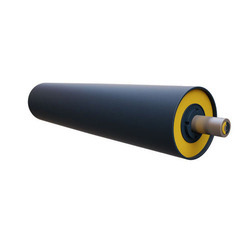 conveyor pulley customized with rubber lagging