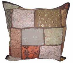 khamadiya Old Patch Work Cushion Cover
