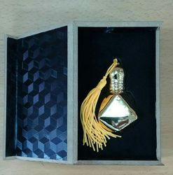 Attar Bottle with Box Packaging