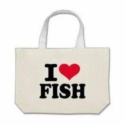 I Love Fish Bags