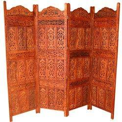 aarsun handmade partition screen for home in rosewood