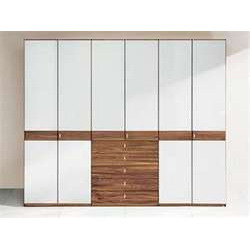 Double Door Wardrobe with Colour