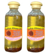 Saffron Almond Oil
