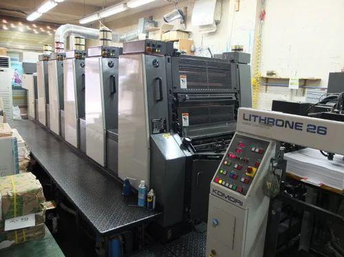 printing used komori offset printing machine service provider from rh indiamart com Digital Printing Machine Screen Printing Machine