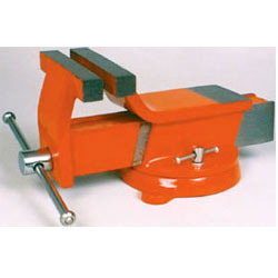 bench vice swivel base