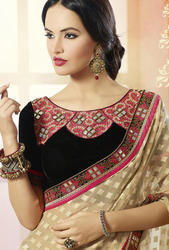 Partywear Saree with Border