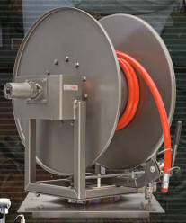 Pumper Cleaner Hose Reel