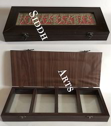 Dhokra Art Wooden Box