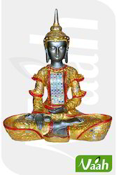 Vaah Polyresin Meditating Buddha Statue