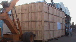 Heavy Machinery Relocation Packing