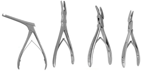 Rongeurs Surgical Instrument Surgical Instruments Bone