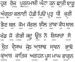 language punjabi essay