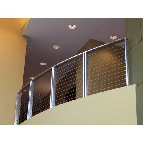 Balcony grills ss balcony grills manufacturer from bengaluru for Balcony safety grill designs