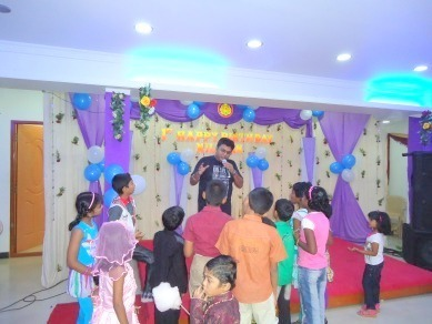 AC Birthday party hall in chennai OMR Party Hall Decorations