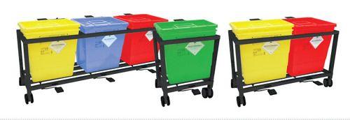 Waste Segregation Trolleys