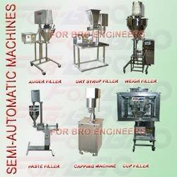 Semi Automatic Machines