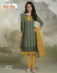 Pasmina Cotton Dress Material