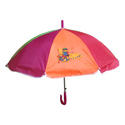 Multi Color Frilly Umbrella