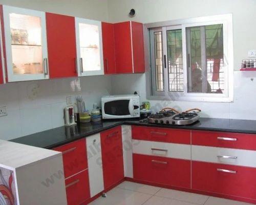 Interior design modular kitchen service provider from kolkata Normal kitchen design images