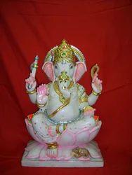 Marble Ganesh Statue for Mandir