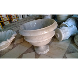 Decorative Carved Design In Marble