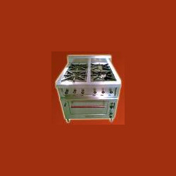 Four Range Burner with Oven