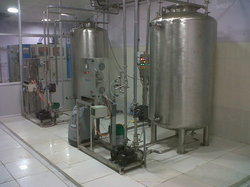 Ozonator with Mixing Tank