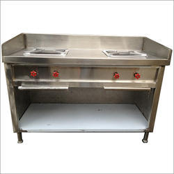Double Burner Fully Closed Type