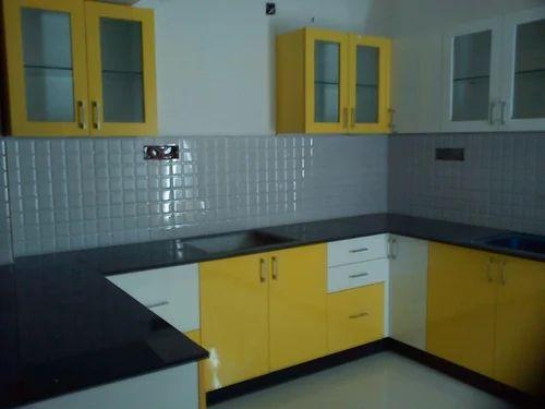 Modular Kitchen Modular Kitchen Yellow Service Provider Supplier From Chennai
