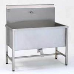 Industrial Stainless Steel Sink. Click To Zoom