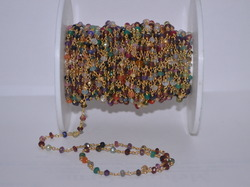 Multi Gemstone Beads Rosary Chain