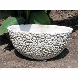 Bowl Pebble Planter