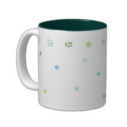 Two Tone Green Mugs