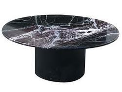 Black Top Marble Table