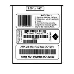 Specialized Barcode Stickers
