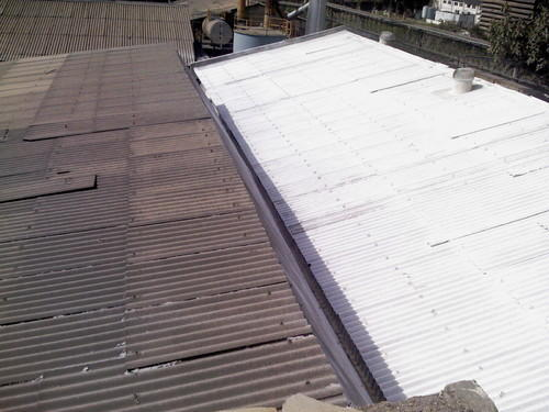 Excel Coolcoat Heat Reflective Cool Roof Coating Heat