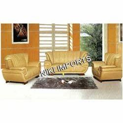 Lotus Bonded Sofa Set - Rexine