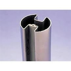 Stainless Steel Double Slot Tubes