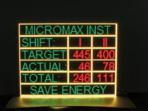 Tricolor LED Display