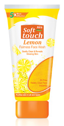 fairness face wash with lemon