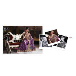 Glass Tissue Sarees