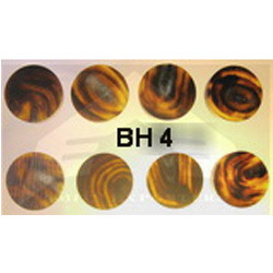 BH 4 Buffalo Horn Button Blanks